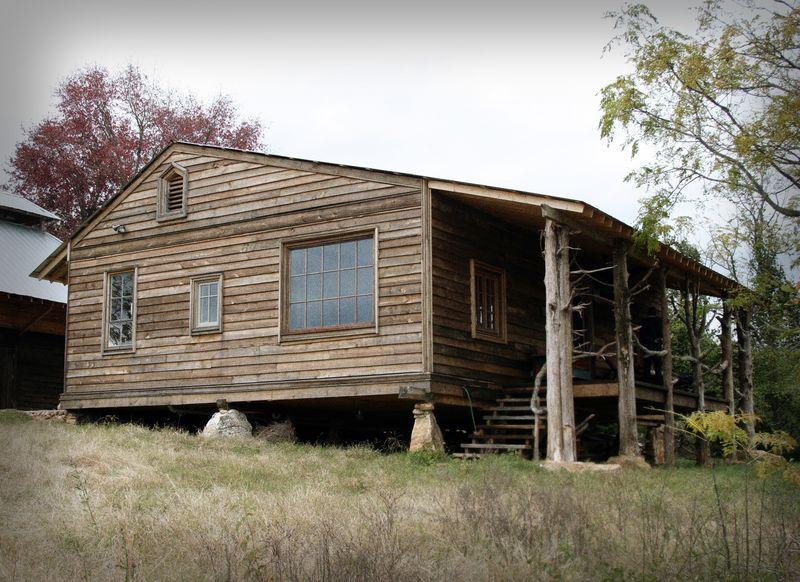 Back porch antiqued